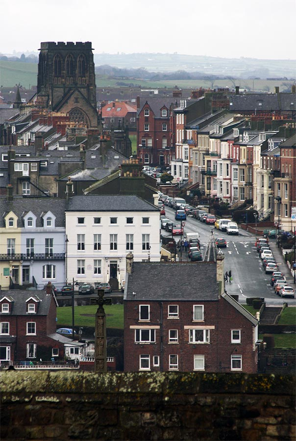 Whitby as viewed from the Abbey