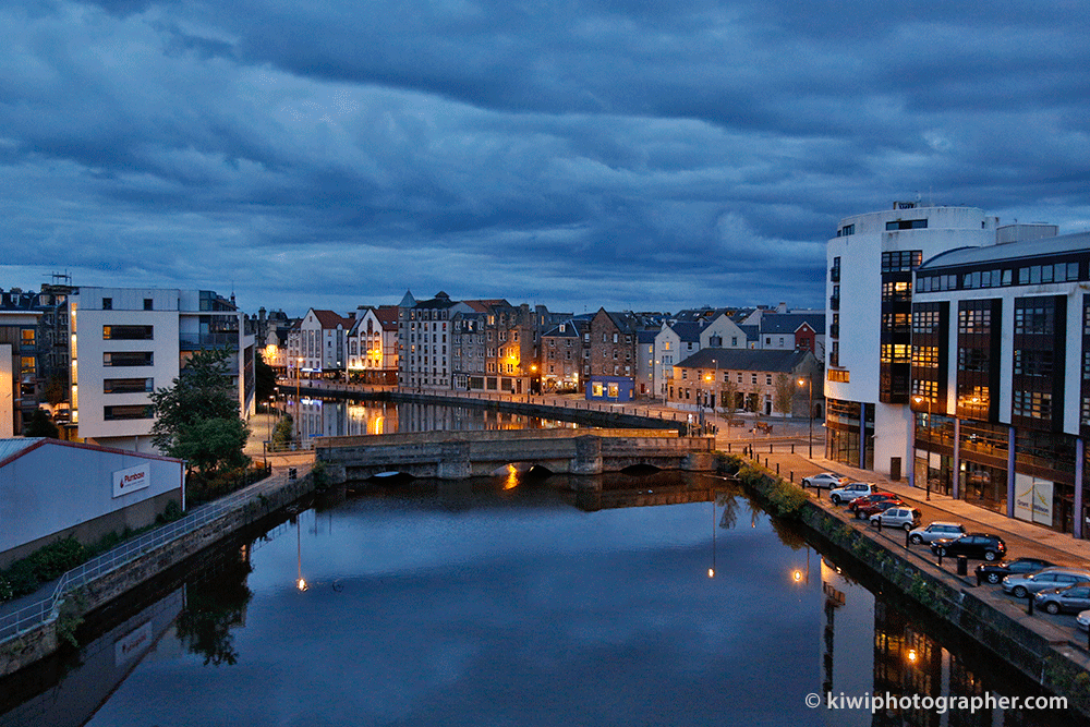 HDR image of The Shore, Leith, Scotland