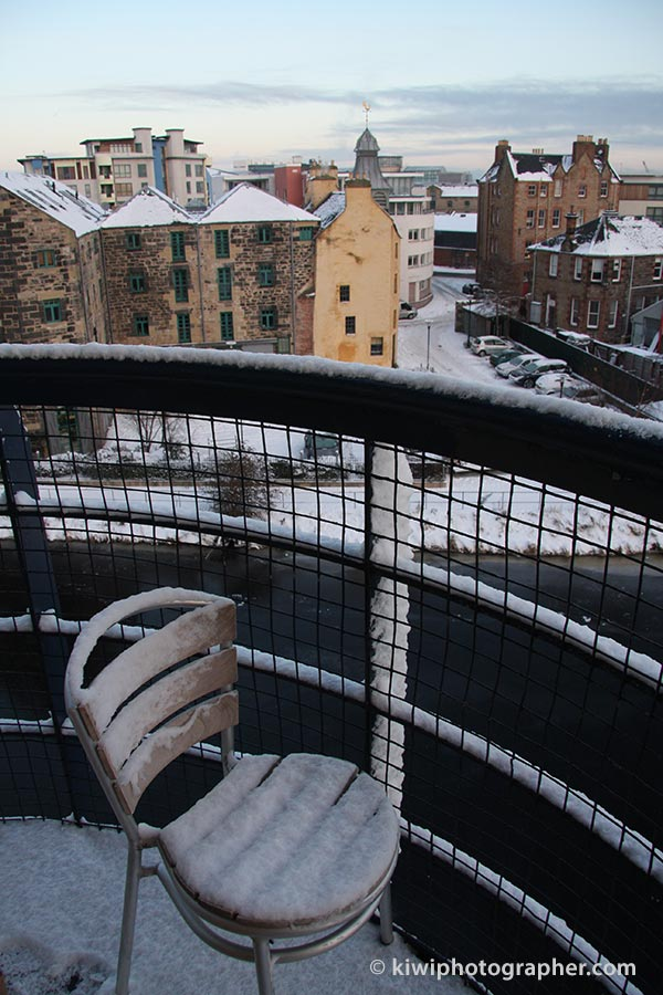 Snowy days in Leith